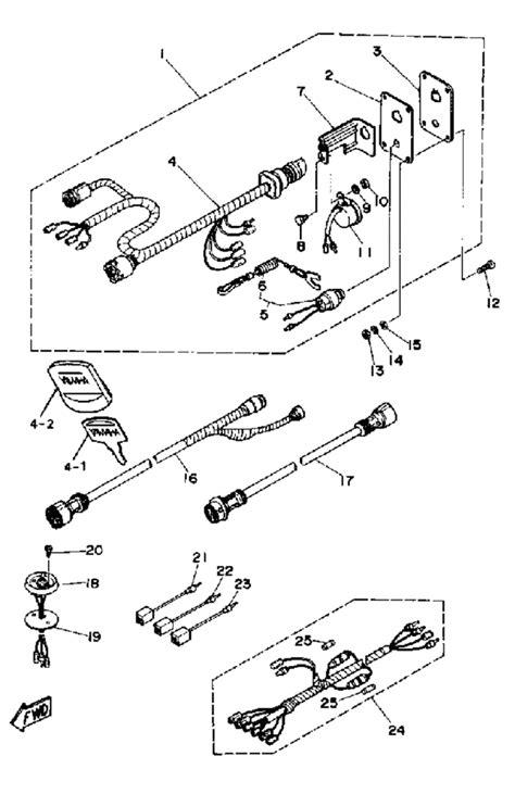 yamaha outboard binnacle remote wiring diagrams