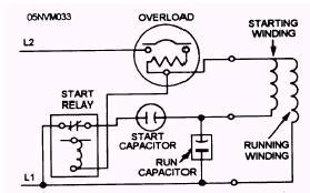 single phase capacitor start run motor wiring diagram get free image about wiring diagram