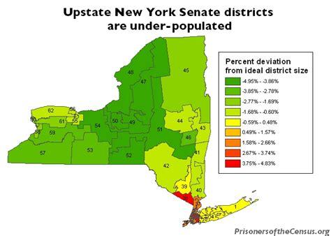 state senate district map new york senate district 34 prison gerrymandering project