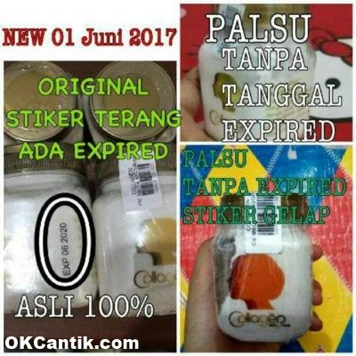 Bibit Collagen Ori Dan Palsu bibit collagen original 100 efektif memutihkan