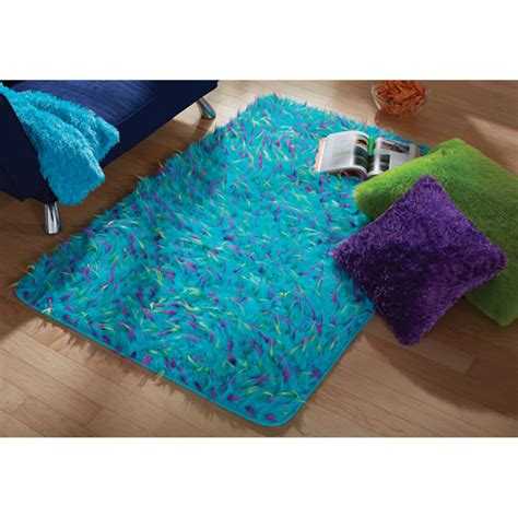 Your Zone Rugs by Your Zone Blue Spiker Rug 3 X 4 8 Quot Walmart