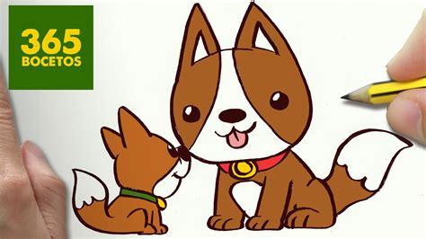 imagenes de animales kawaii 365bocetos como dibujar perritos kawaii paso a paso os ense 241 amos a