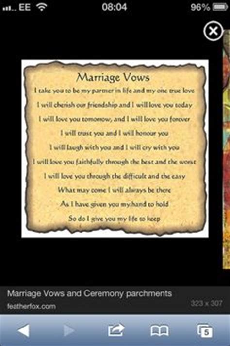 Wedding Vows Meaning by 1000 Images About Vows On Wedding Vows Best