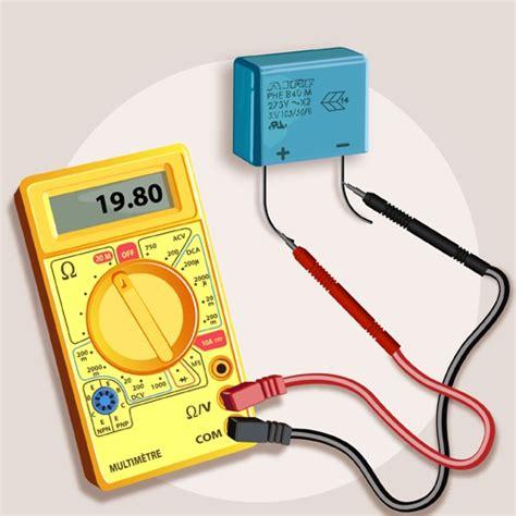 test de diode avec multimetre comment tester un condensateur ooreka