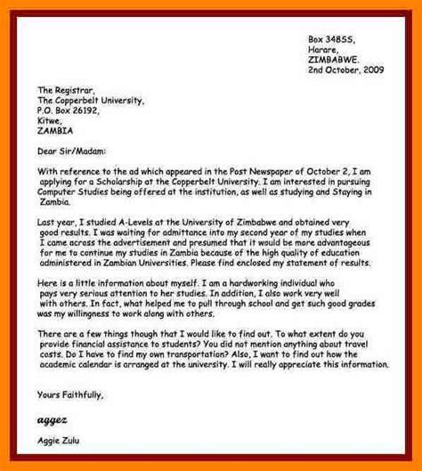 motivation letter of bursary application 5 sle of bursary motivation letter edu techation