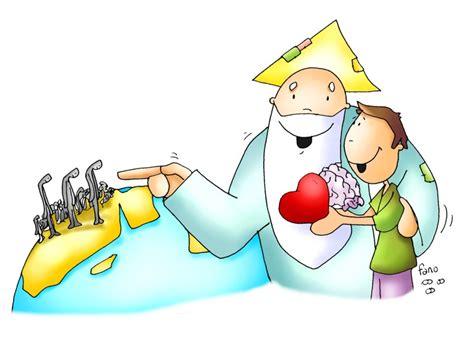 imagenes catolicas en caricatura ama a dios con todo tu coraz 243 n y tu mente y descubre a tu