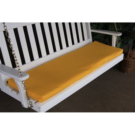 swinging benches 6 foot swing bench glider cushion