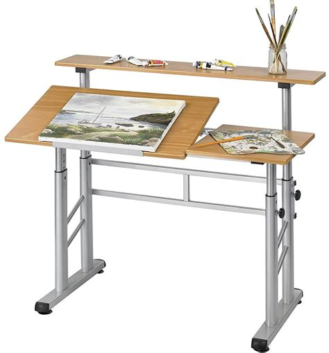 small drawing desk split level drafting table in drafting tables