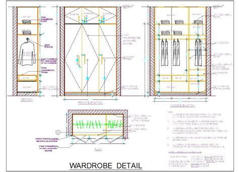 Inside Kitchen Cabinet Ideas Wooden Wardrobe Design Detail 5 Size Plan N Design