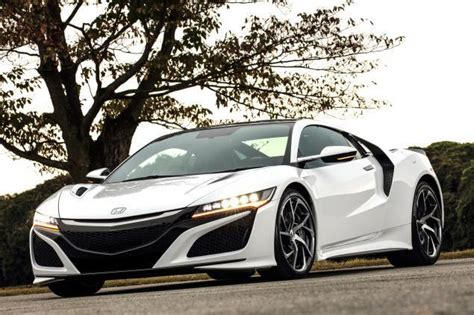 first acura ever first 2017 acura nsx sells for a whopping 1 2 million