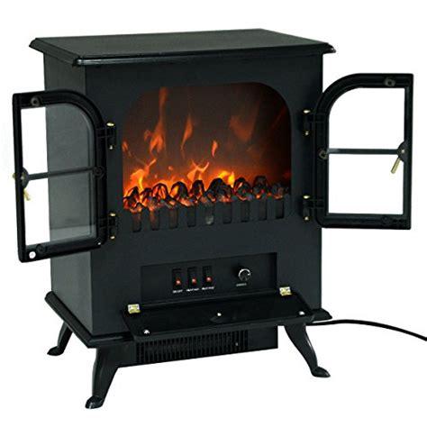 giantex free standing electric 1500w fireplace heater fire