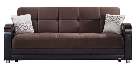 luna sofa bed luna naomi brown sofa bed by sunset w options