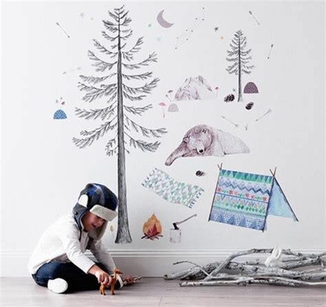 mae wall stickers whimsical and charming vintage inspired room wall decals from mae kidsomania