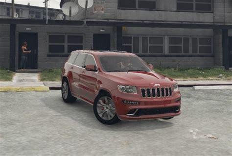 Jeep Grand Handling Jeep Grand Srt8 Handling Gta5 Mods