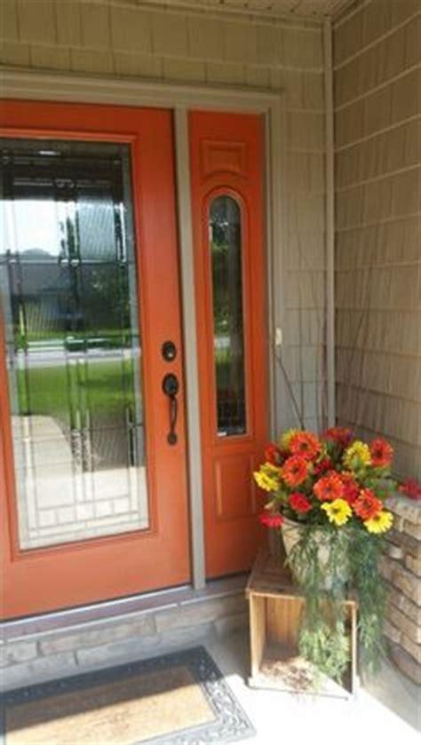 orange front door 1000 ideas about orange front doors on front