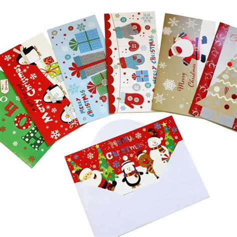 Money Gift Cards Uk - christmas gift money cards assorted bright ideas crafts