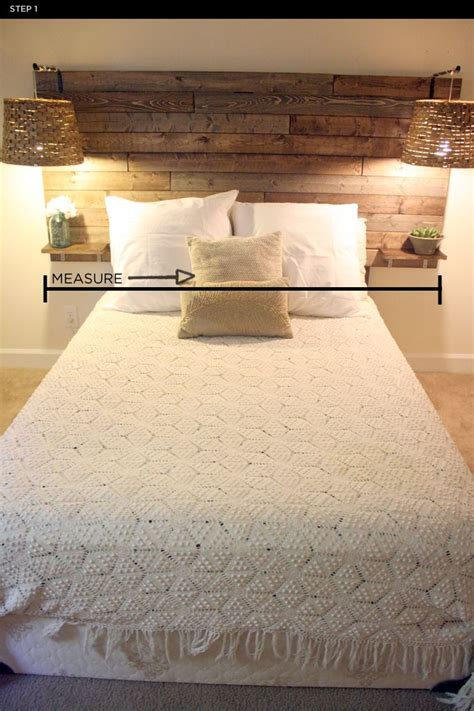 headboard with side tables 25 best ideas about rustic headboards on pinterest diy