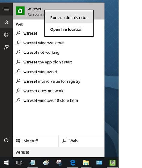 resetting windows cache how to clear reset windows store cache in windows 10