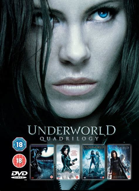 underworld film series cast underworld 1 4 box set dvd zavvi com