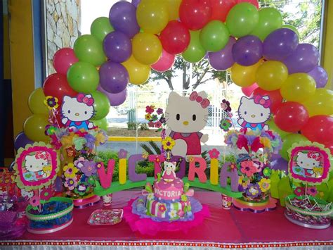 kitty birthday themes hello kitty birthday party ideas photo 2 of 10 catch