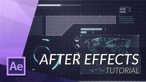 after effect architecture tutorial how to make an awesome futuristic hud in after effects
