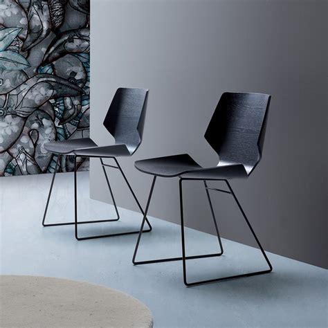 sedia moderna linz sedia moderna in metallo seduta in legno sediarreda