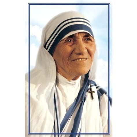 simple biography of mother teresa mother teresa canonization prayer card 50 pk beautiful