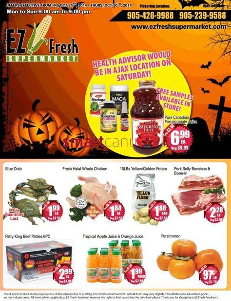 EZ Fresh Supermarket flyer October 24 to 30