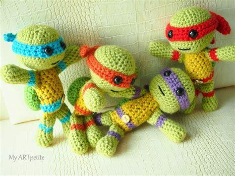 amigurumi ninja pattern free free crochet pattern teenage mutant ninja turtles my