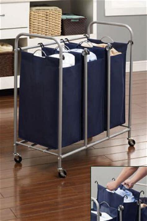3 laundry sorter hometrends 3 bin laundry sorter walmart ca