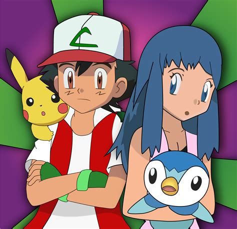 Galerry pokemon ash and misty married