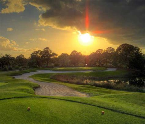sunset course at country club hunter s creek golf club in orlando florida usa golf