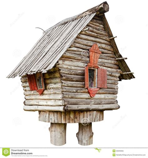 house leg fairy witch house on chicken legs royalty free stock photo image 35945055
