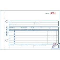 Credit Book Format Rediform 174 Carbonless Credit Memo Book 5 1 2 Quot X 7 7 8 Quot 3 Parts Staples 174