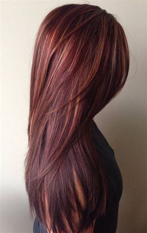 fall hair colors best 25 fall hair highlights ideas on