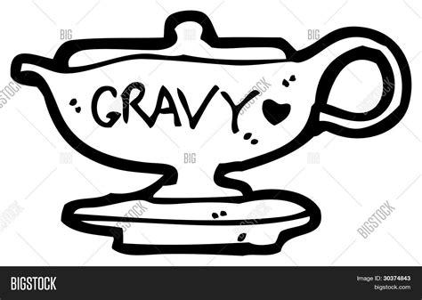 big gravy boat gravy boat cartoon image photo bigstock
