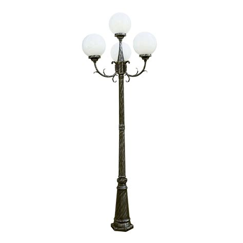led l post light outdoor light posts residential outdoor light posts