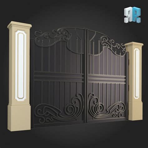 architectural modules   gate designs modern