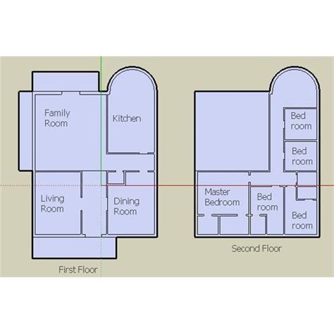 how to draw floor plans in google sketchup designing your house with google sketchup