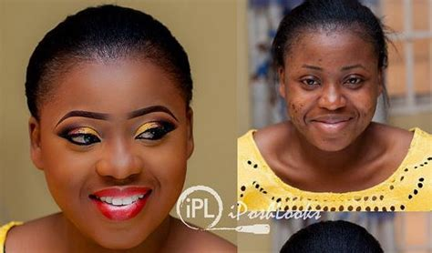 Make Steunk L by Before And After Makeup Photos In Nigeria Mugeek Vidalondon