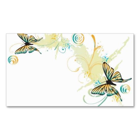 Butterflies And Pansies Business Card Template by Butterflies Profile Card Card Templates Business Cards