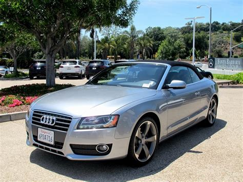 Pre Owned Audi A5 by Pre Owned 2011 Audi A5 2 0t Premium 2d Convertible In