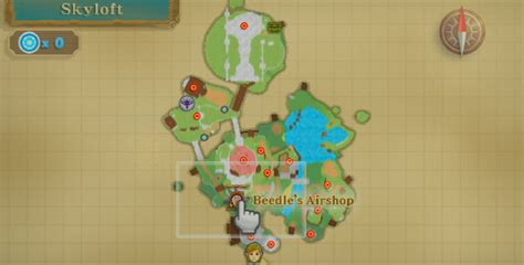 legend of zelda skyloft map emulator issues 9070 the legend of zelda skyward sword