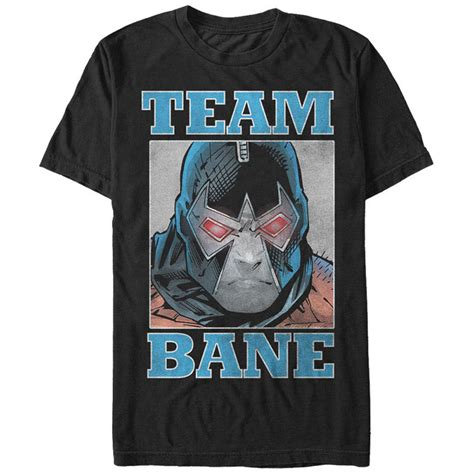 Kaos T Shirt Bane Batman batman team bane black t shirt