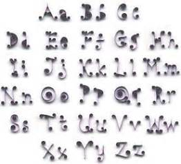alphabet printing kit alphabet letters quilling kit includes designs paper ebay
