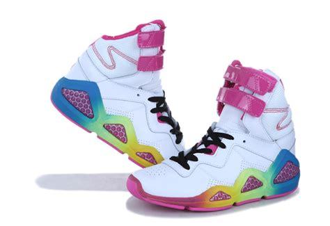 basketball shoes womens sale reebok shoes pink white yellow womens eric sermon mid