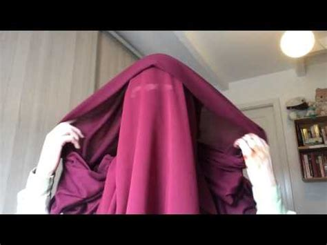 tutorial niqab heliza helmi how to eat with a niqab on phim video clip