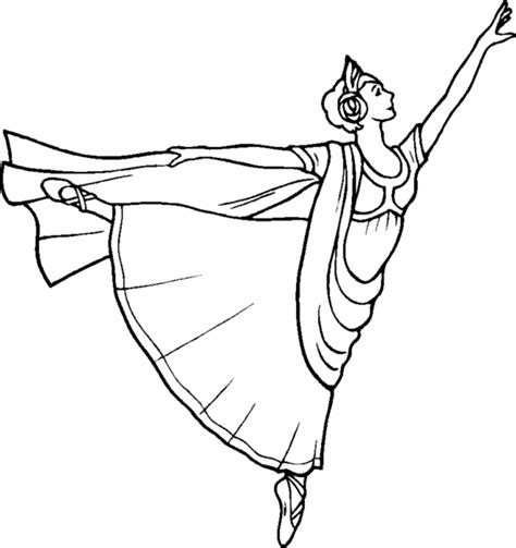 ballerina coloring pages coloring town