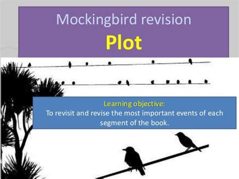to kill a mockingbird themes revision mockingbird revision plot