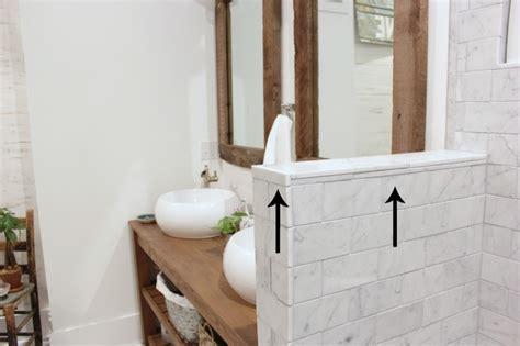 vertical tiling bathroom